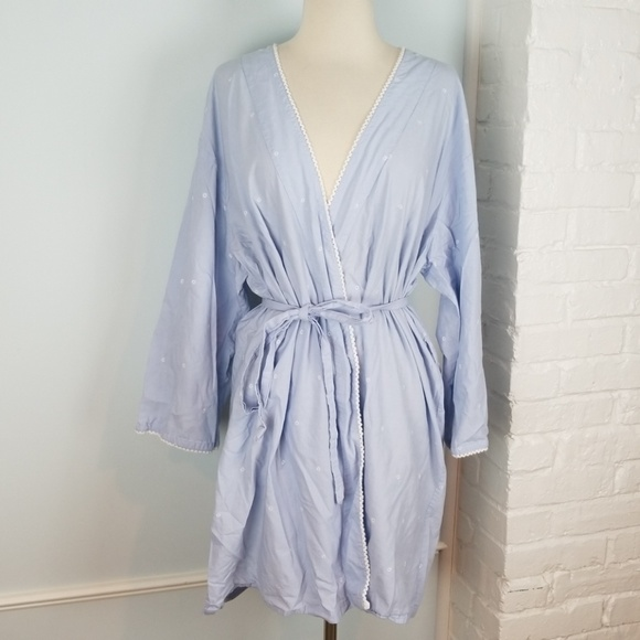 Ladies Robe Gilligan O'Malley M//L Lavender